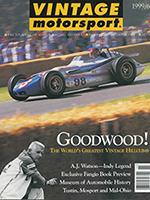 Vintage Motor Sport Magazine 1999