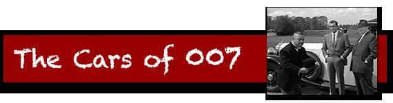 The Cars of James Bond Quiz