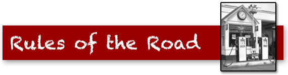Rules of the Road Quiz