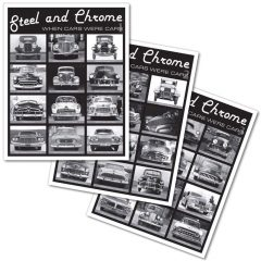 Classic Car Posters - Steel and Chrome