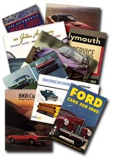 Walter Miller's Automobile Literature